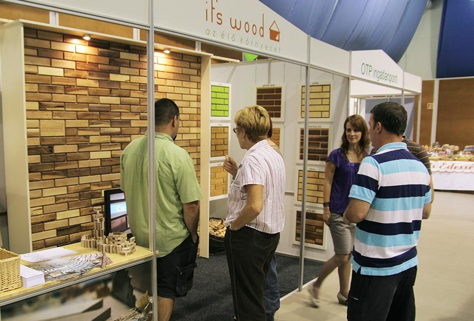 IT'S WOOD stand a Pécs EXPO-n